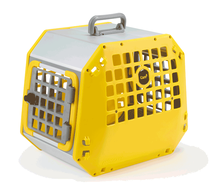 transportbox care2 yellow